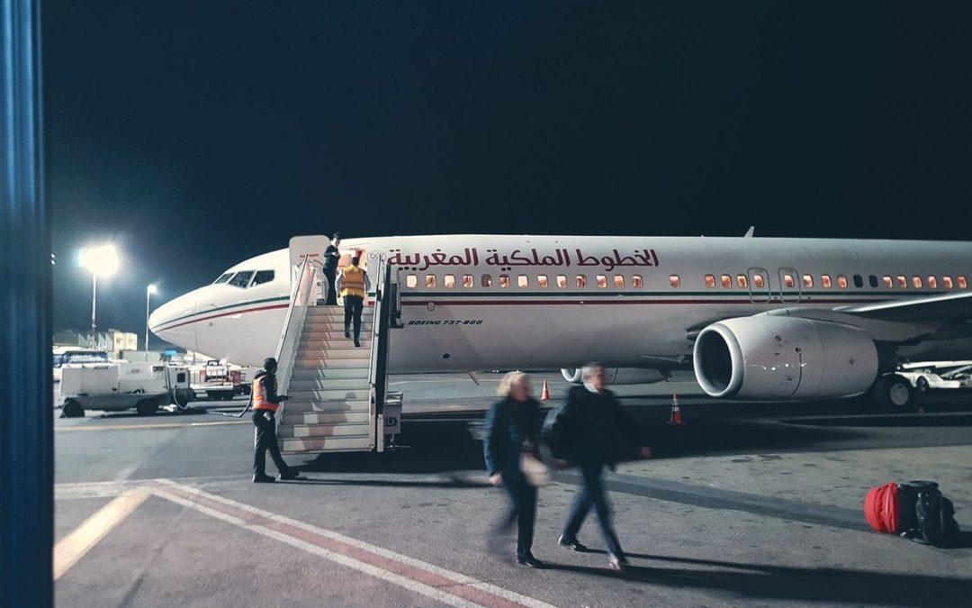Il mio volo della speranza con Royal Air Maroc