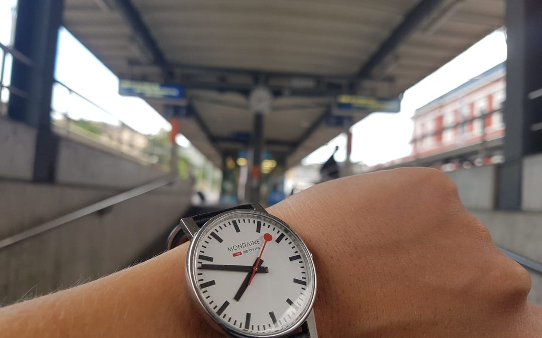 La mia prima terribile volta sulle ferrovie svizzere