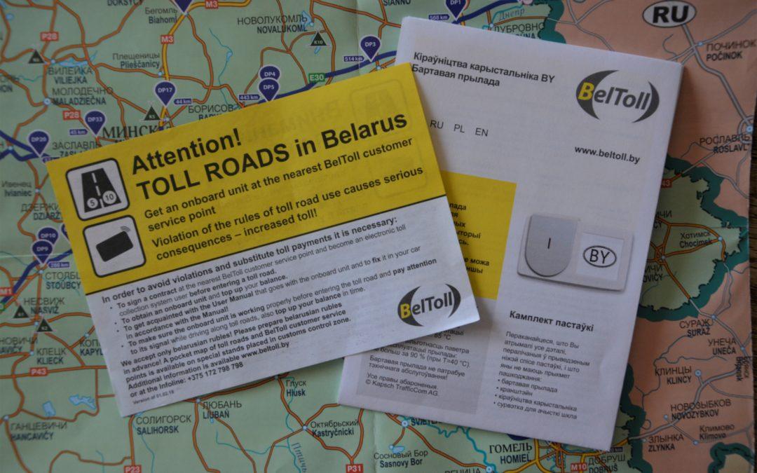 Come usare Beltoll, il telepass bielorusso