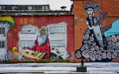 Vulica Kastryčnickaja: il paradiso della street art a Minsk