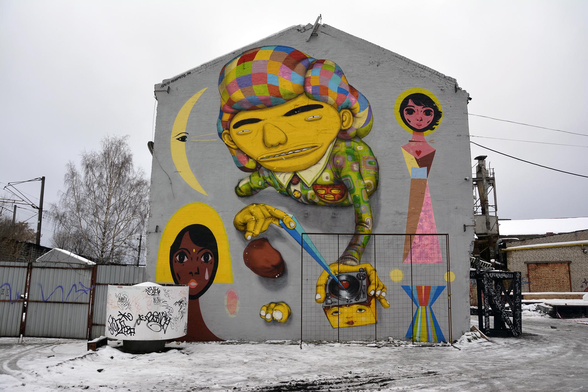 artisti di strada minsk