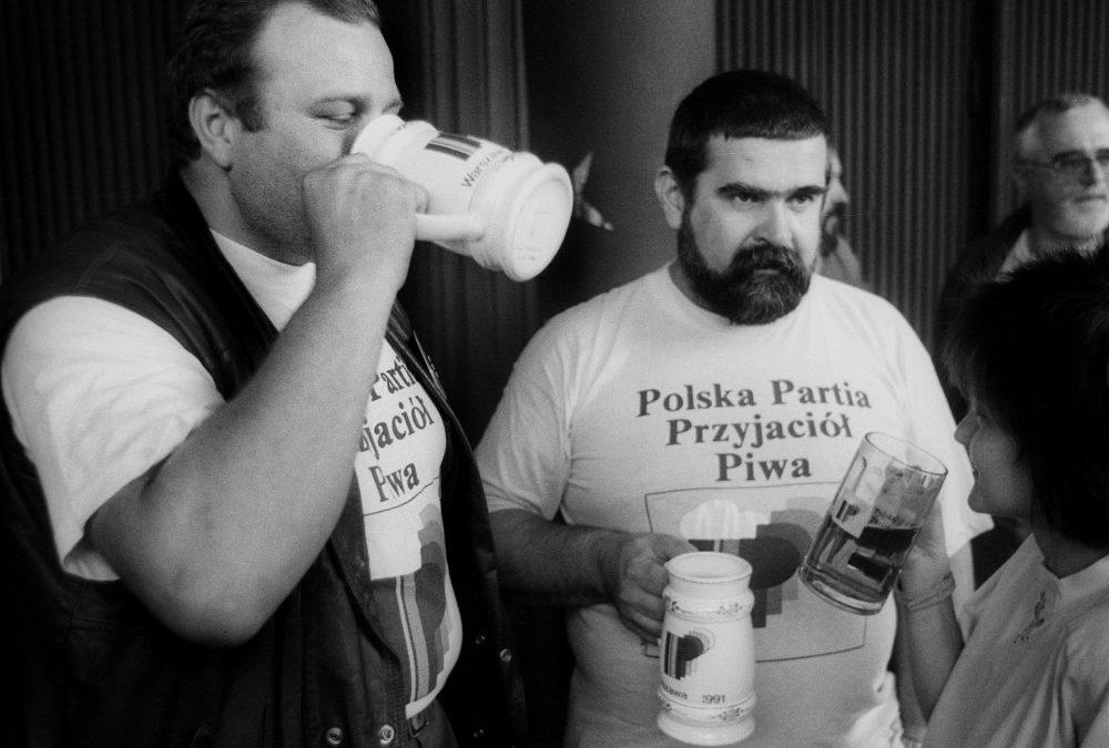 Il partito polacco degli amici della birra